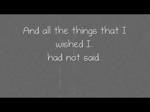 Snow Patrol - You Could Be Happy(Lyrics!)