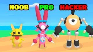 NOOB vs PRO vs HACKER - Monster Box screenshot 2