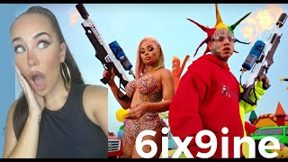 FEMALE DJ REACTS TO 6IX9INE- TUTU (Official Music Video) 😱 REACTION