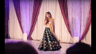 Best Indian/Pakistani Wedding Dance by Bride (Sangeet) * Surina & Raheem Nov 2018 *