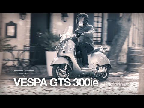 My friend Amy bought a Vespa GTS!