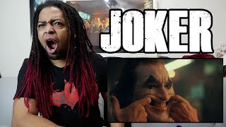 Joker Teaser Trailer Reaction