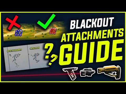 BLACKOUT : ATTACHMENTS GUIDE - Stock , Laser Sight & Foregrip