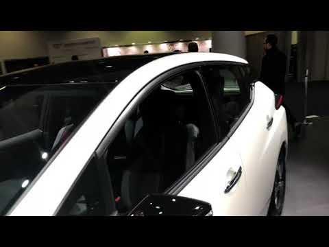 Nissan Leaf Zero Emission Car At CES Las Vegas 2019