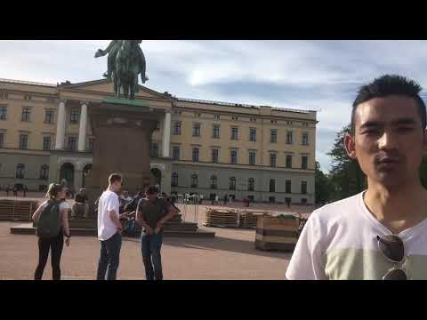Norway oslo ! ROYAL palace | national DAY