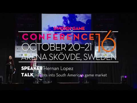 SGC16: Hernan Lopez - Insights into South American game market
