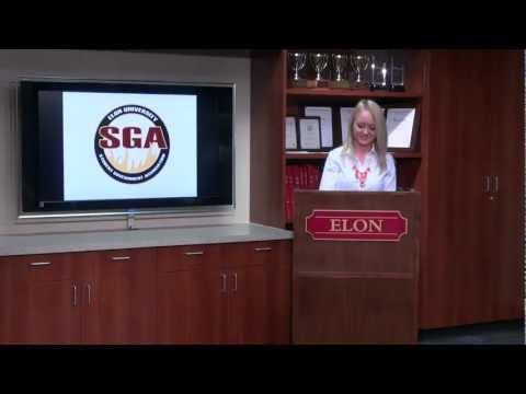 2013 SGA Election: Executive Position Speeches