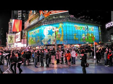 goodbye to toys r us times square flagship youtube. Black Bedroom Furniture Sets. Home Design Ideas
