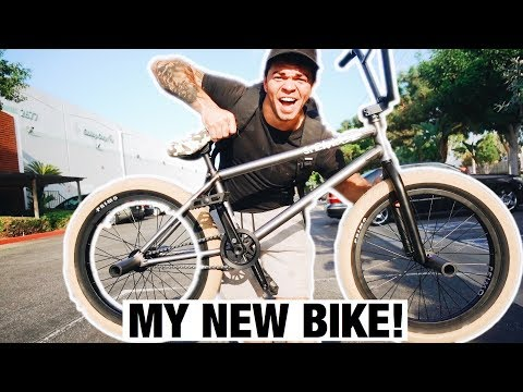 THIS IS MY NEW BMX BIKE!