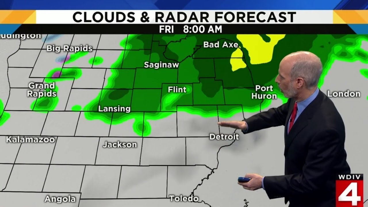 Grand Rapids Weather Map.Metro Detroit Weather Forecast For Dec 21 2018 Morning Update