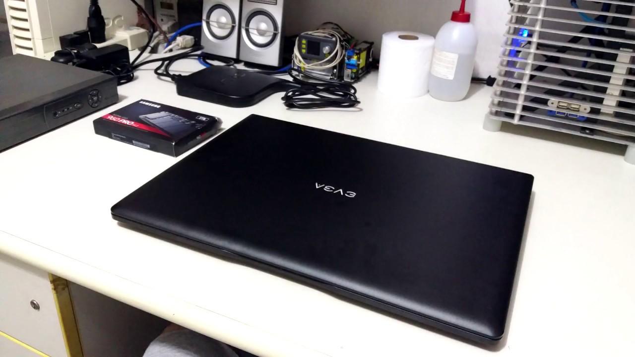 Download NoteBook EVGA SC17 - Teardown for SSD Upgrade
