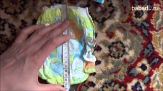 видео Трусики подгузники для плавания в бассейне: как выбрать?