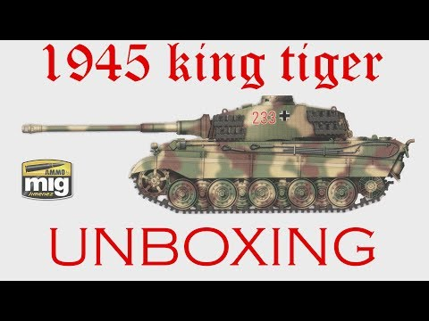 King Tiger - 2 in 1 by AMMO Limited Edition kit Unboxing & Review 1/35