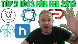 🔥 TOP 5 ICOs for Feb 2018 🖐