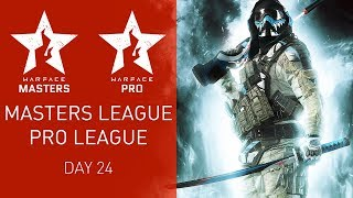 Warface Open Cup Season XIV: Masters League & Pro League. Day 24