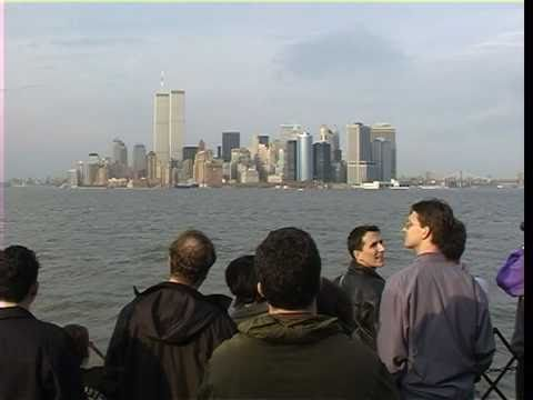 New York -  Staten Island Ferry, Twin Towers .mpg