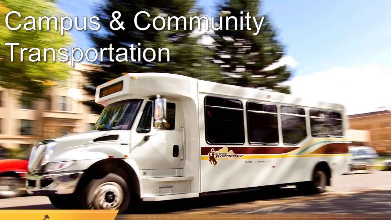UWYO Roundup Campus & Community Transportation 2018-2019