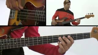 Bass Guitar Lesson - #82 - Atomic Bass - Kai Eckhardt