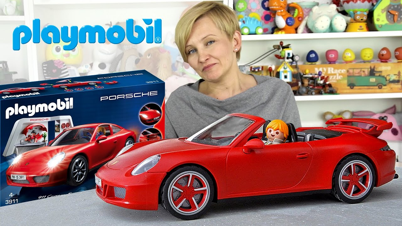 playmobil 3911 porsche 911 carrera s youtube. Black Bedroom Furniture Sets. Home Design Ideas