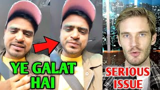 Amit Bhadana ANGRY | PewDiePie On COPPA | Emiway New Song, CarryMinati On Triggered Insaan, SeeKen |