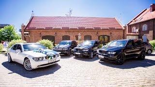 Свадьба на BMW Крутой кортеж из BMW X5