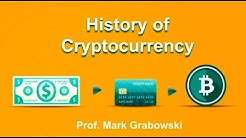 History of Cryptocurrency