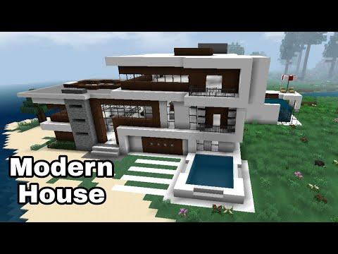 Mini Block Craft Modern House