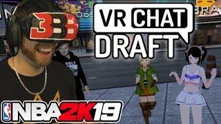 NBA 2K19 Virtual Reality Draft