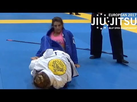Mackenzie Dern VS Emilie Thylin / European Championship 2017