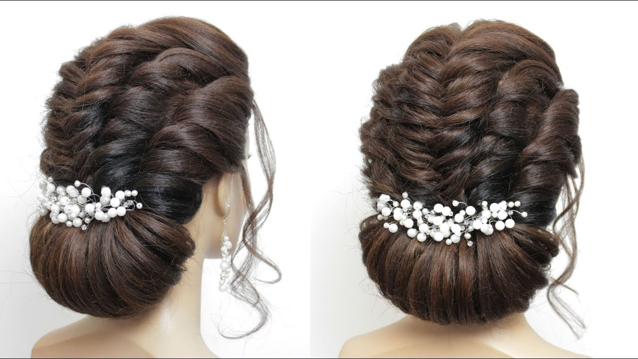 Wedding Updo Tutorial. Formal Hairstyles For Long Hair