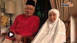 9.40pm: Selepas buka puasa dengan ibu, Najib kembali ke rumah