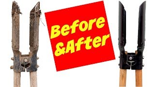 How To Refurbish Garden Tools