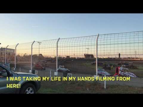Airport Raceway - Midget racing action
