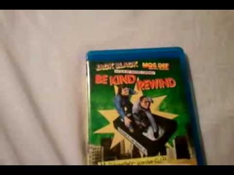 Be Kind Rewind (2008) - Blu Ray Review and Unboxing