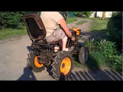 Трактор с мотоблока кентавр