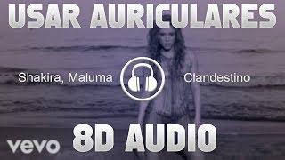 Shakira Maluma Clandestino 8D AUDIO USAR AURICUALRES.mp3