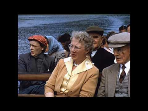 Devon and Cornwall in 1950s or 60s in wonderful 16mm Kodachrome