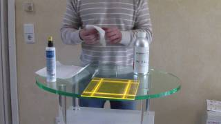 How to make an Acrylic box. Cut in one piece in foil, V-grooves are perfectly cut, taped, broken, glued and bent in one piece all the ...