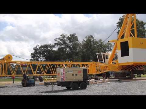 Offshore Pedestal-Mounted Crane by EBI