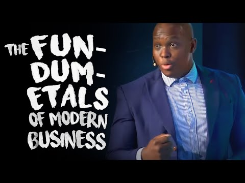 Vusi Thembekwayo- The Fun-Dumb-Mentals of Modern Business