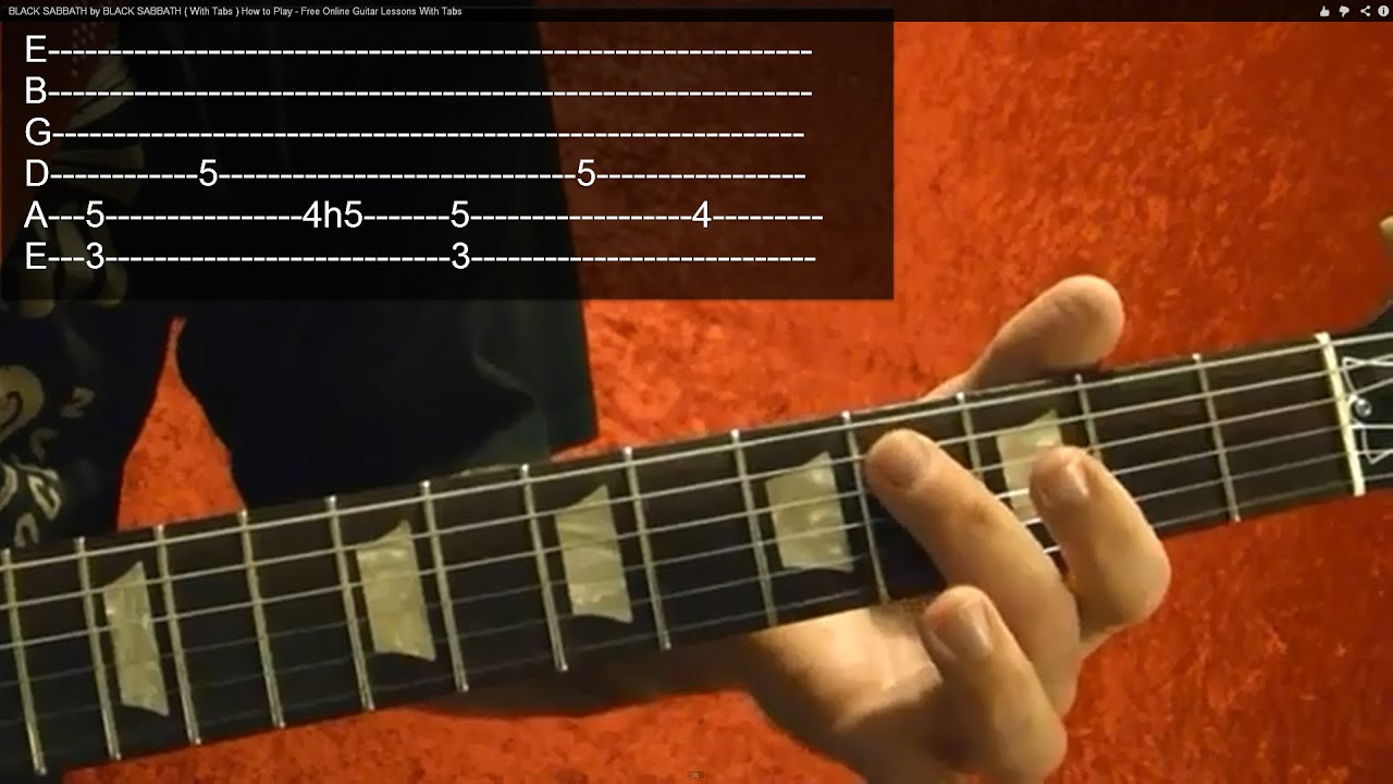 Easy beginner song Metallica ONE Intro guitar lesson - YouTube