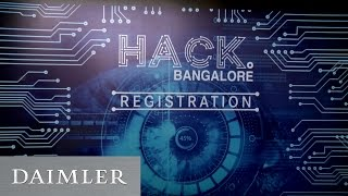 DigitalLife@Daimler  Hack Bangalore