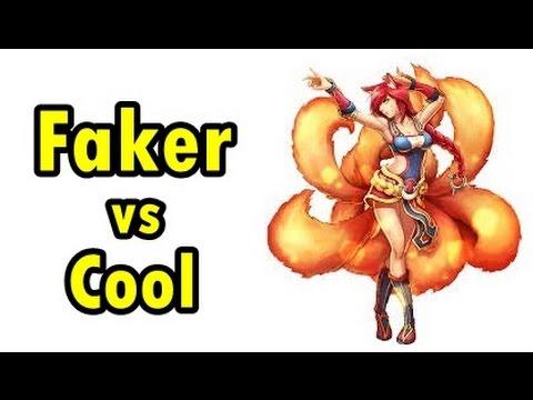 LOL Pro - Faker Cassiopeia vs OMG Cool Ahri - Korea SoloQ