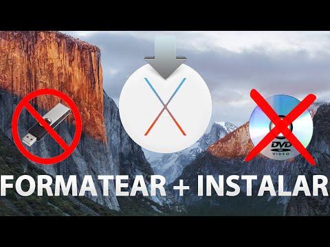 Formatear Mac e instalar OS X de nuevo [SIN USB/DVD]