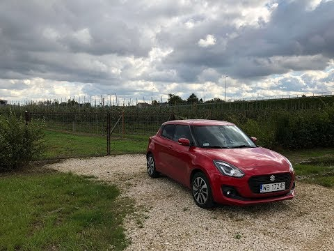 Suzuki Swift 2018 1.0 BoosterJet Hybrid test PL Pertyn ględ