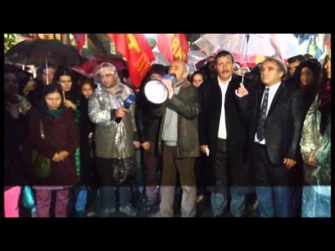 """Ankara Tahir Elçi için sokakta: """"Barış Elçi'sini katlettiniz!"""""""