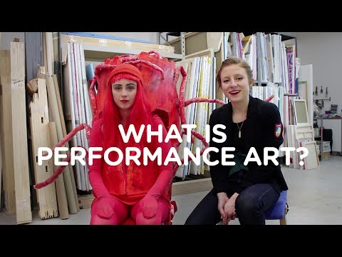 WHAT IS PERFORMANCE ART? With Kathryn Marshall