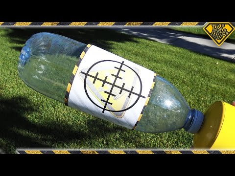 Experiment: Homemade Exploding Water Bottles