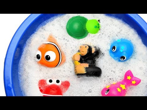 Wild Zoo Animals Toys Baby Mom Learn Animals Names Education Toys and Colours for Kids