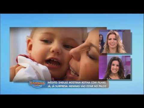 Scheila Carvalho e Sheila Mello revelam como são com suas filhas